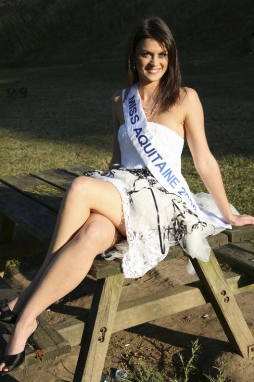 Photo de miss aquitaine