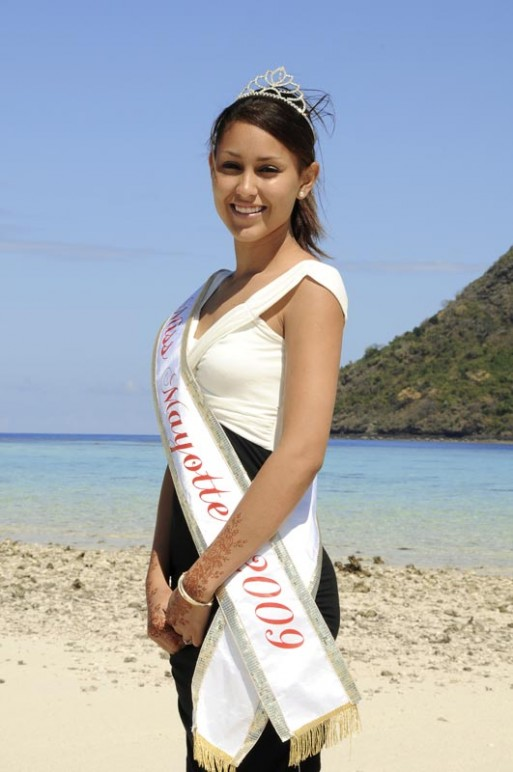 Photo de miss mayotte
