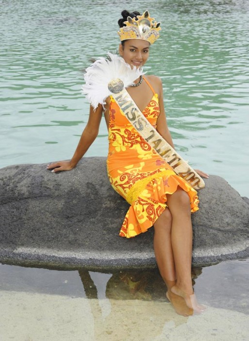 Photo de miss tahiti
