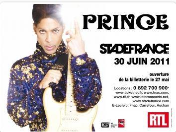 Le concert de Prince au Stade de France