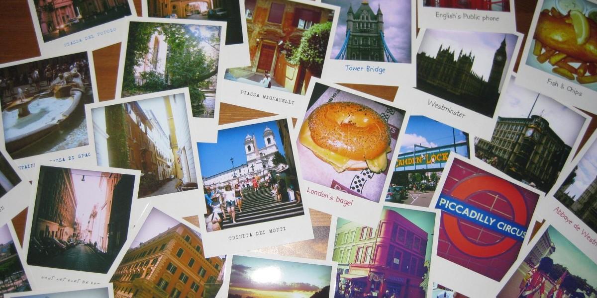 Des photos numériques transformées & développées en Polaroids !