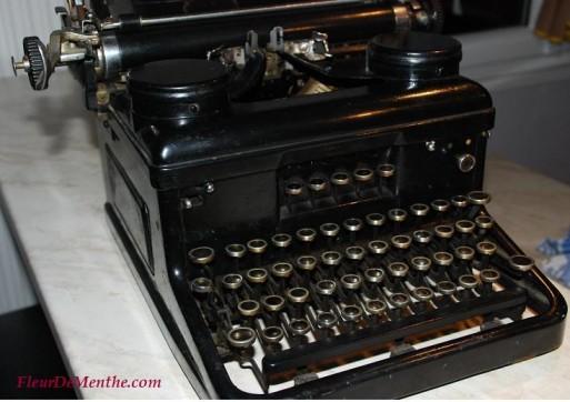 machine a ecrire ancienne