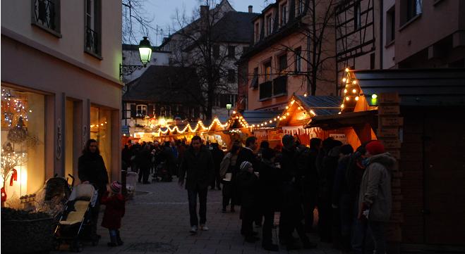 Les chalets de Strasbourg