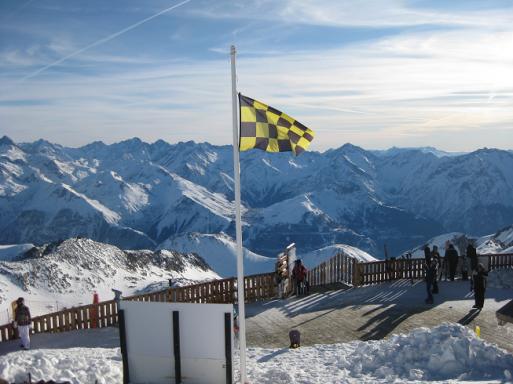 Risque d'avalanche à l'Alpe d'huez