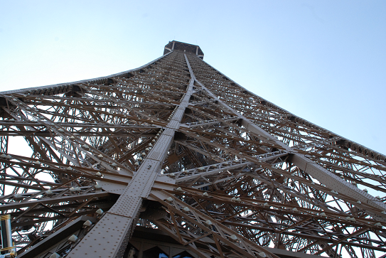 Voir Paris du haut de la Tour Eiffel