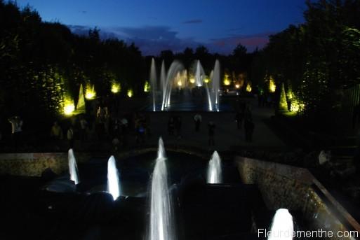 Vue générale du bosquet des 3 fontaines