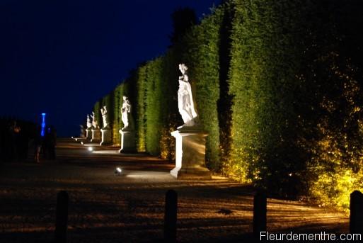 Les statues du chateau de Versailles