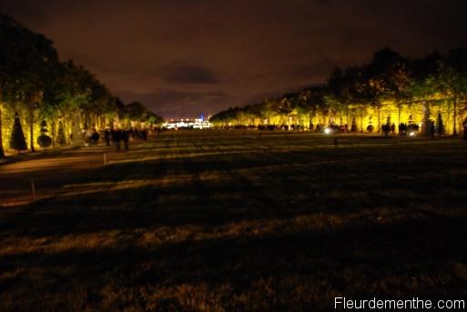 La tapis vert des jardins du Chateau
