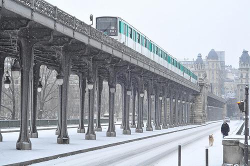 Le peuple du métro parisien