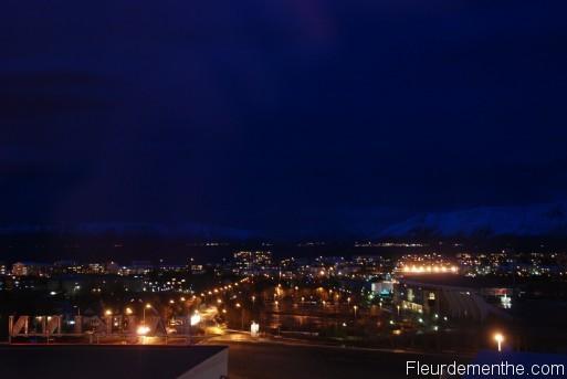 Reykjavik la nuit