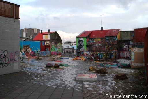 art urbain islande