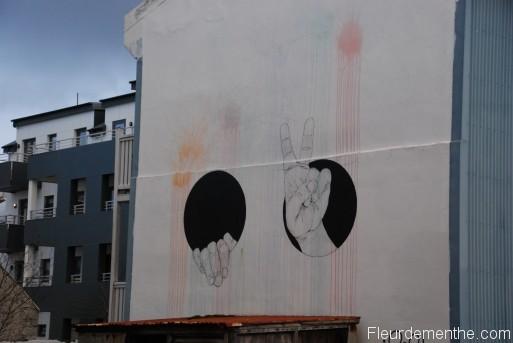 mur street art islande
