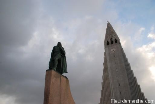 Église d'Hallgrimur à Reykjavik
