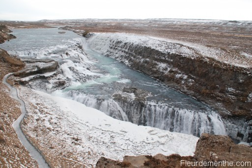 chutes d'eau de Gulfoss