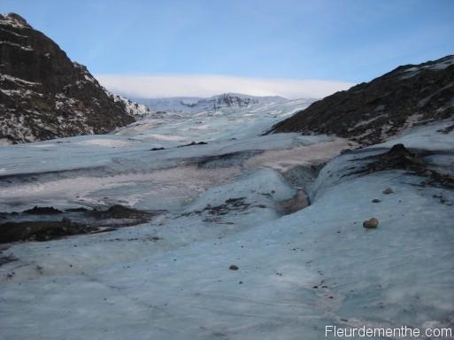 glace islande