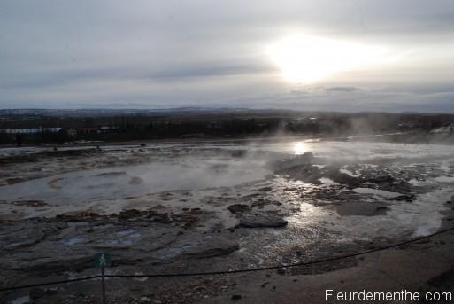 geyser desert