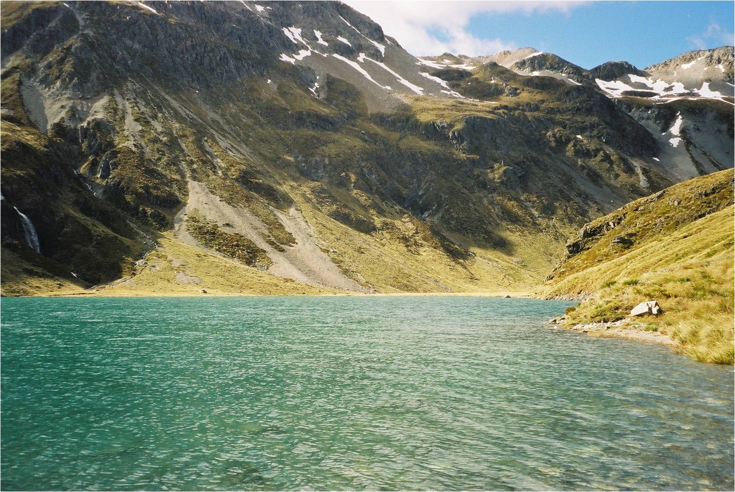 blue lake hut nz