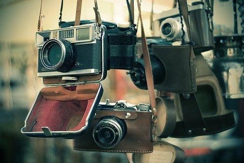 vieux appareils photo
