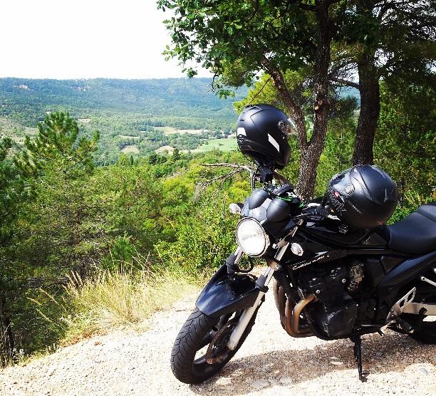 Balade en moto dans les gorges du Verdon