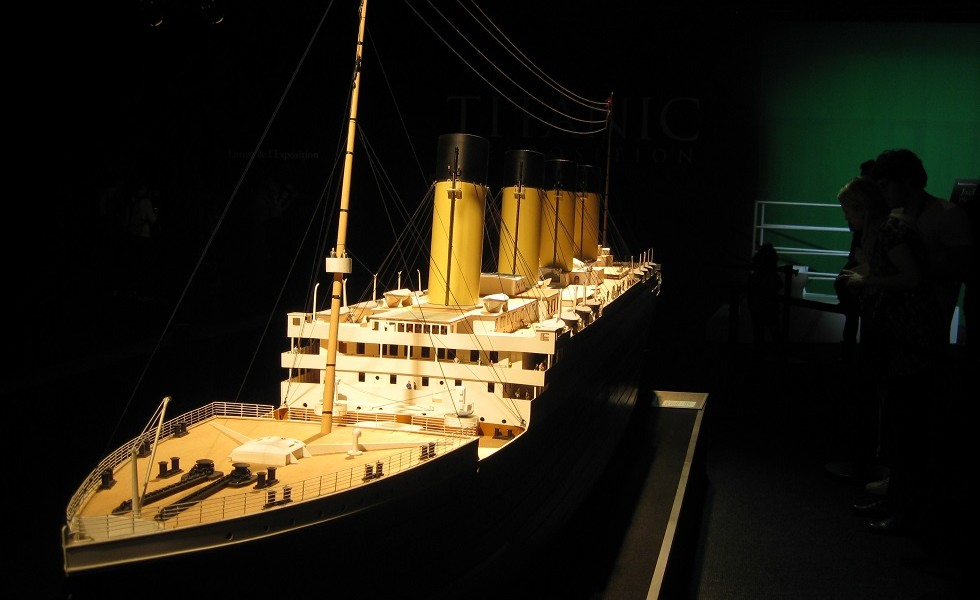 Expo Titanic à Paris / Rétrospective