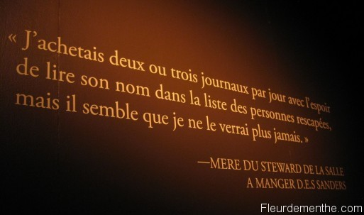 citation mere disparu titanic