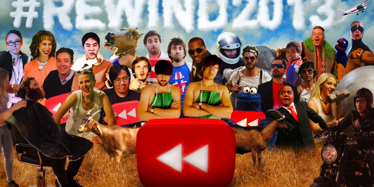 Youtube, Twitter, Facebook, Best-of de l'année 2013
