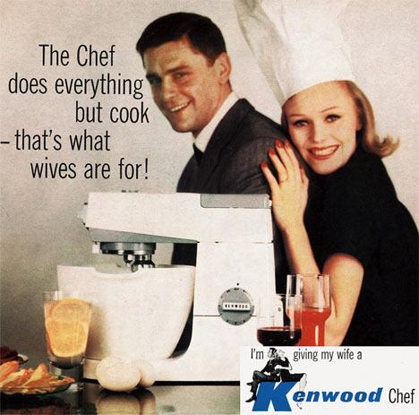 10 publicités vintages sur les tâches ménagères