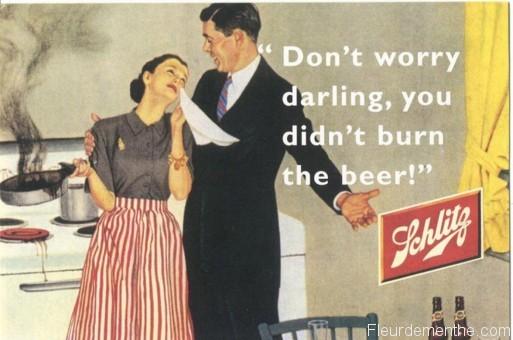 pub sexiste biere