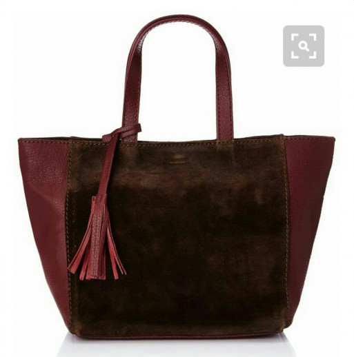 Sac en cuir rouge Loxwood