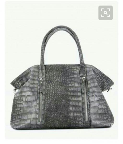 Grand sac cabas gris