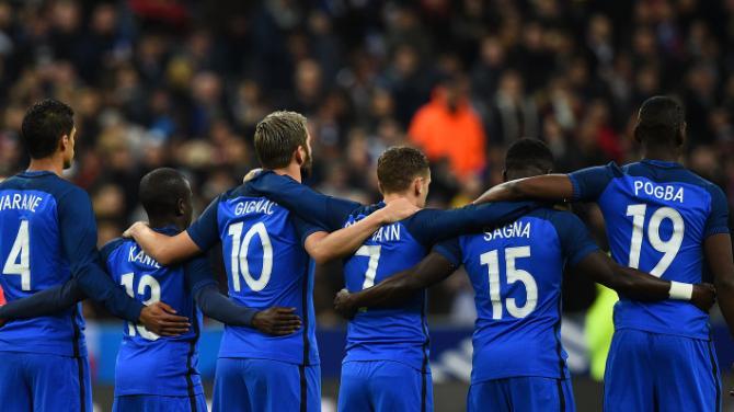 Chère équipe de France,